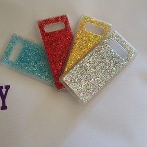 Accessories - Samsung Note 8 glitter case set